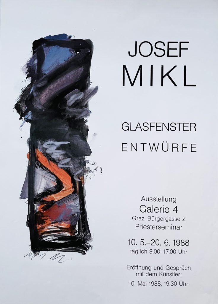 Galerie 4 Josef Mikl 05 1988